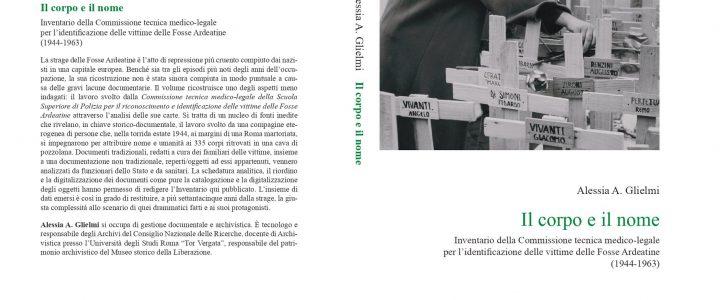 """Con """"Il corpo e il nome"""" di A. Glielmi si apre la collana del CeRSE"""